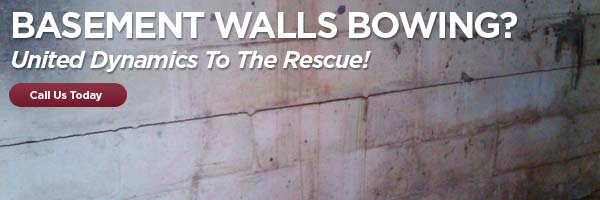 bowing basement walls can indicate a need for foundation repair